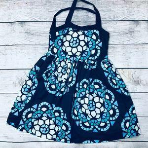 GapKids size M/8 blue halter dress